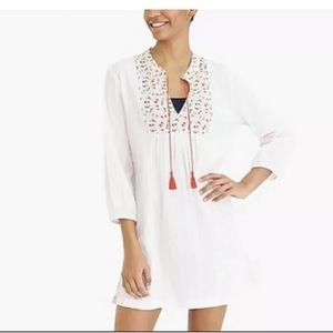 J Crew Factory Cherry Beach Tunic Size :Small
